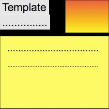 template general